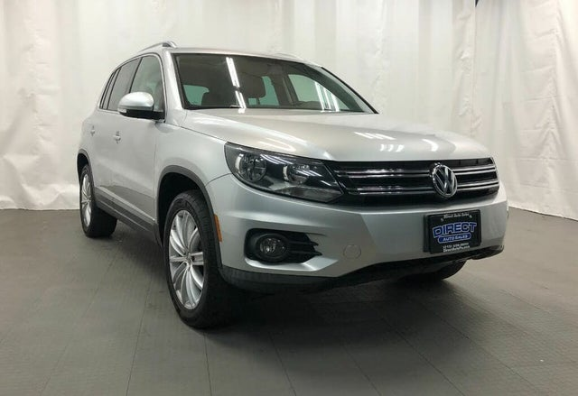 2012 Volkswagen Tiguan SEL 4Motion AWD with Premium Navigation and Dynaudio