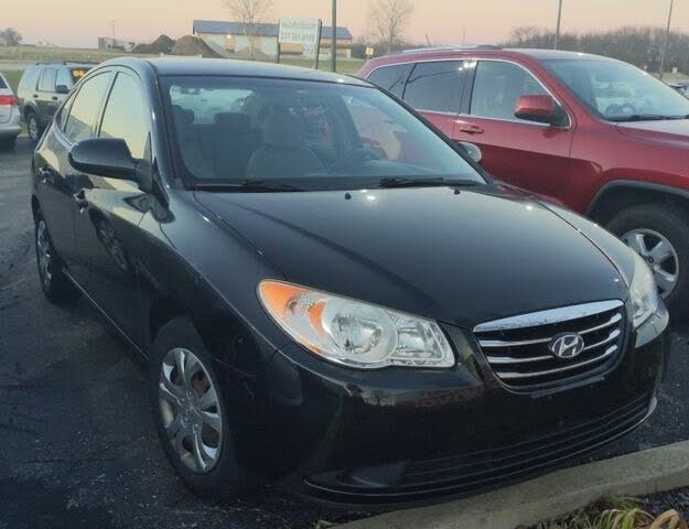2010 Hyundai Elantra Blue Sedan FWD