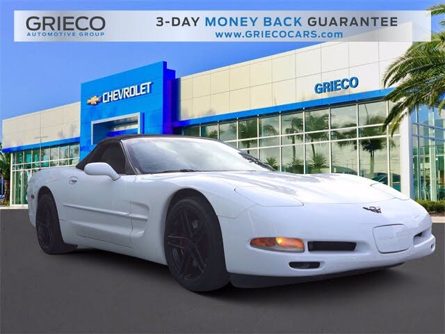 1999 Chevrolet Corvette Convertible RWD