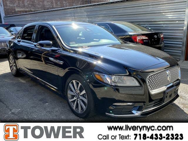 2019 Lincoln Continental Livery FWD