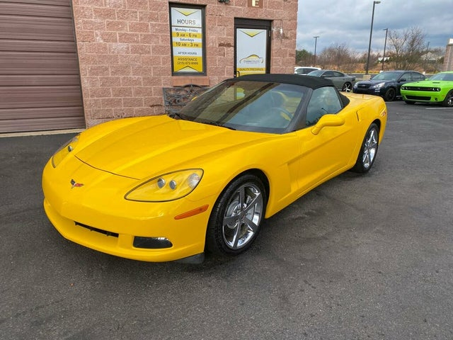 2009 Chevrolet Corvette 3LT Convertible RWD