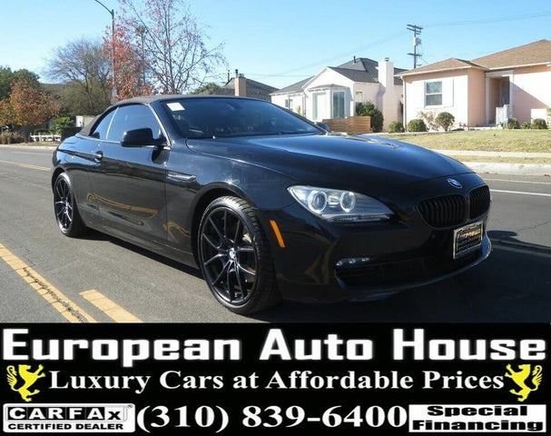 2013 BMW 6 Series 650i Convertible RWD