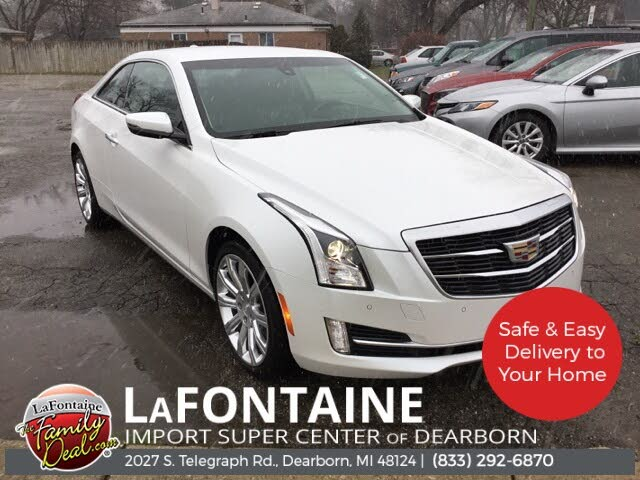 2016 Cadillac ATS Coupe 2.0T Luxury AWD