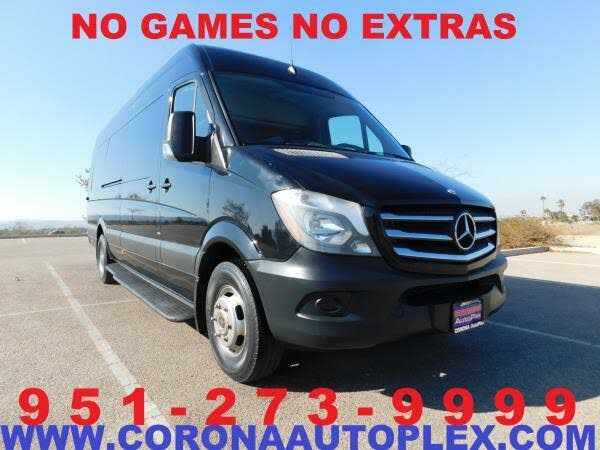 2015 Mercedes-Benz Sprinter Cargo 3500 170 High Roof DRW RWD