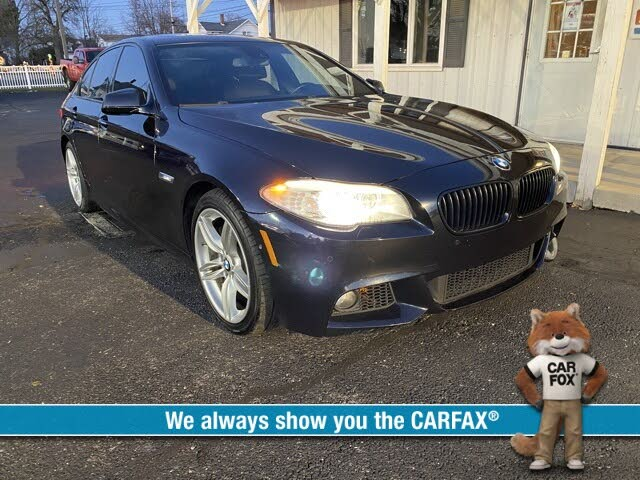 2011 BMW 5 Series 550i xDrive Sedan AWD