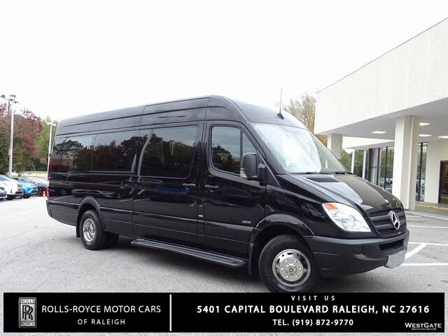 2012 Mercedes-Benz Sprinter Cargo 3500 170 High Roof DRW RWD