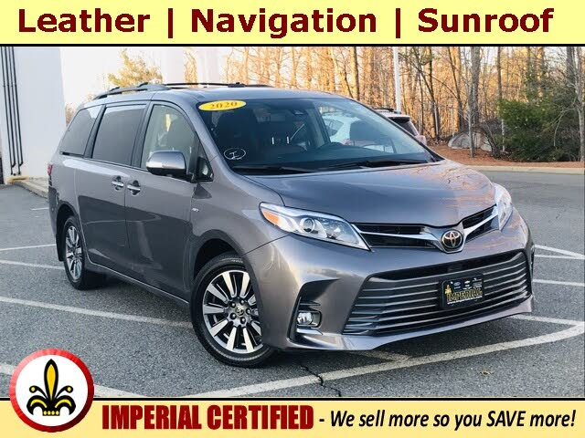 2020 Toyota Sienna Limited 7-Passenger AWD