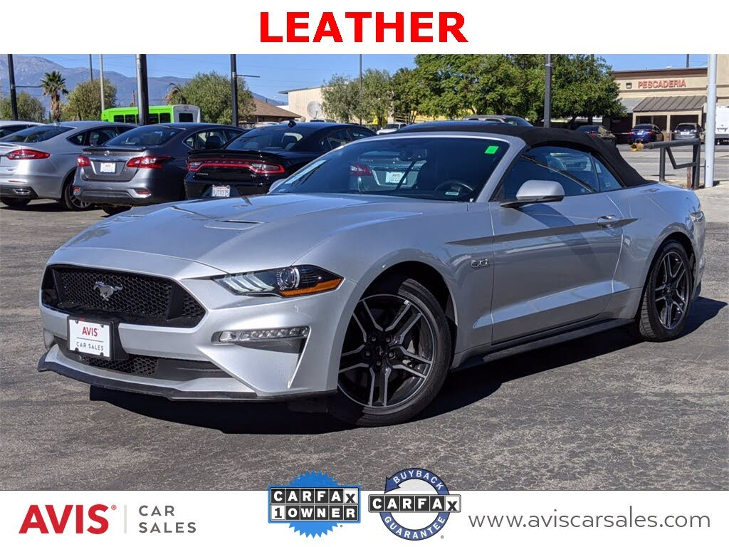 Used 2019 Ford Mustang Gt Premium Convertible Rwd For Sale Right Now Cargurus