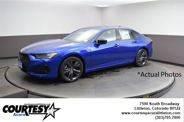 2021 Acura TLX SH-AWD with A-Spec Package