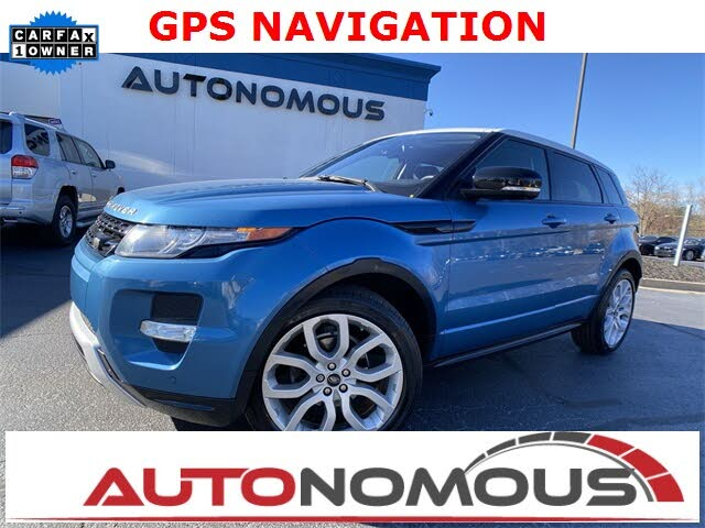 2013 Land Rover Range Rover Evoque Dynamic Hatchback