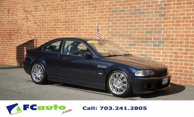 2001 BMW M3 Coupe RWD