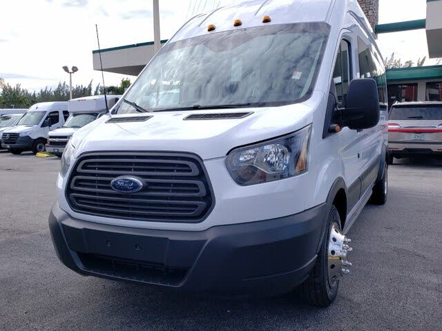 2015 Ford Transit Passenger 350 HD XL Extended High Roof LWB DRW RWD with Sliding Passenger-Side Door