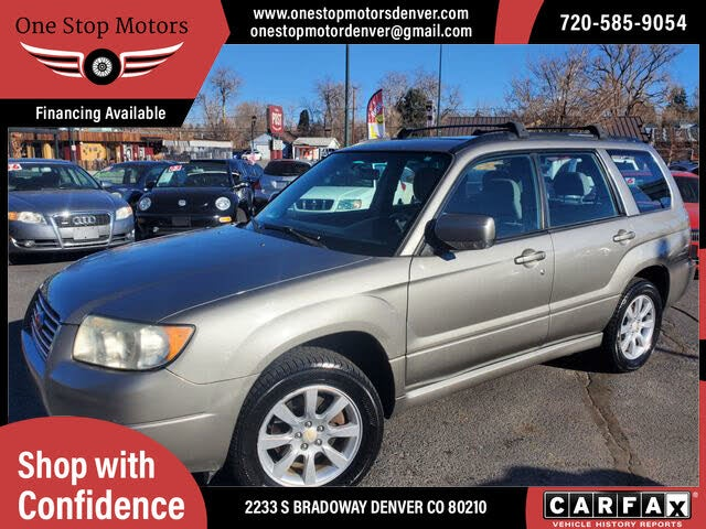 2006 Subaru Forester 2.5 X Premium Package