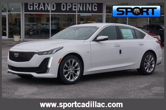 2021 Cadillac CT5 Premium Luxury Sedan RWD