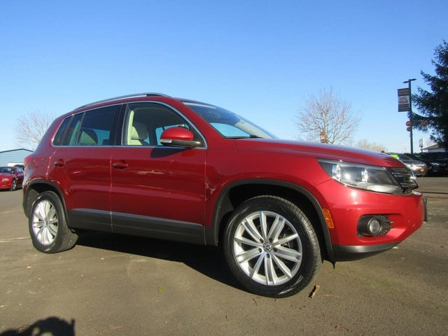 2014 Volkswagen Tiguan SE with Appearance