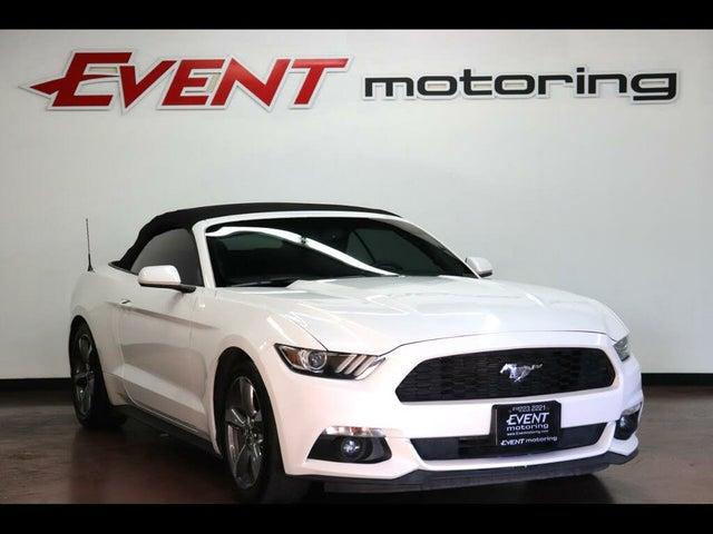 2017 Ford Mustang V6 Convertible RWD