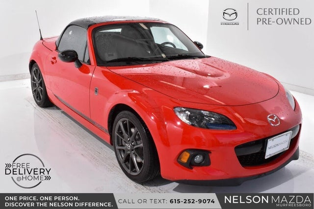 2015 Mazda MX-5 Miata Club Convertible with Retractable Hardtop