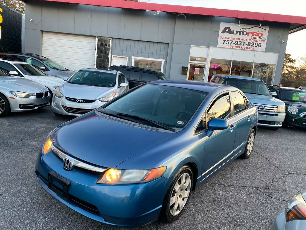 Used 2008 Honda Civic Lx For Sale Right Now Cargurus