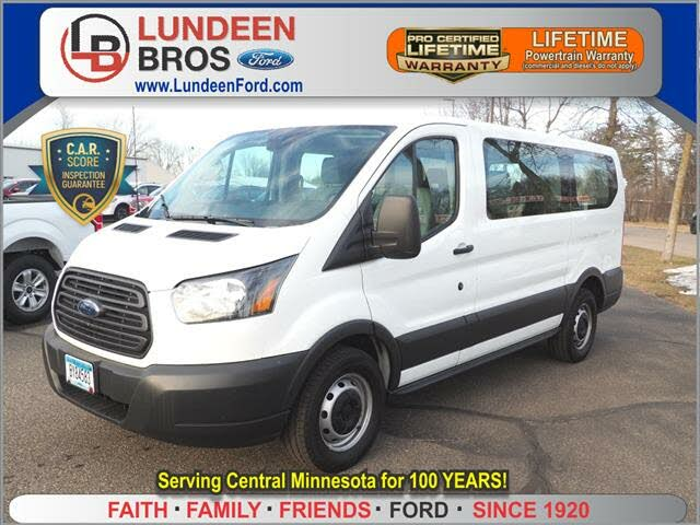 2016 Ford Transit Passenger 150 XL Low Roof RWD with 60/40 Passenger-Side Doors