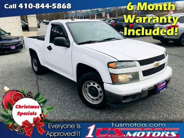 2011 Chevrolet Colorado Work Truck RWD