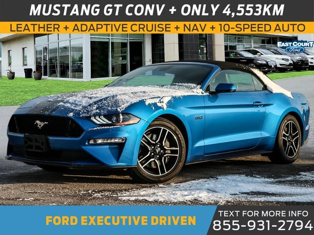 2020 Ford Mustang GT Premium Convertible RWD