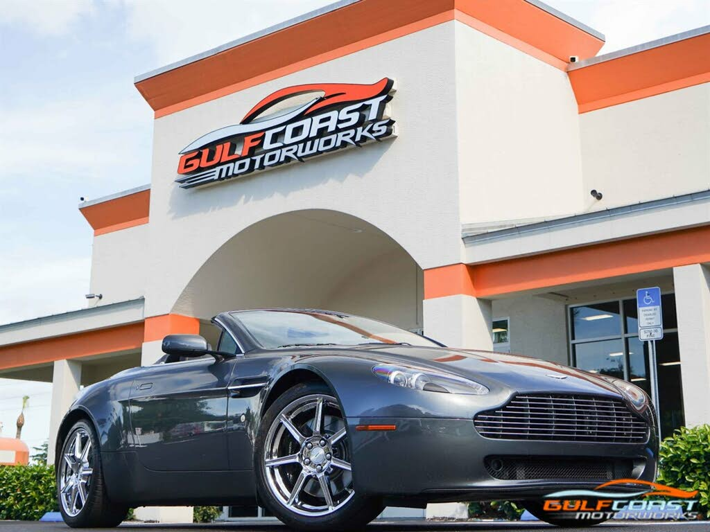Used 2008 Aston Martin V8 Vantage For Sale With Reviews Cargurus
