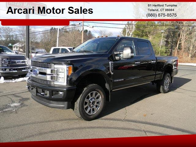 2018 Ford F-250 Super Duty Limited Crew Cab 4WD