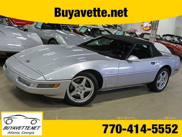 1996 Chevrolet Corvette Convertible RWD