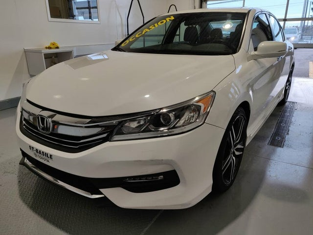 2016 Honda Accord Sport with Honda Sensing