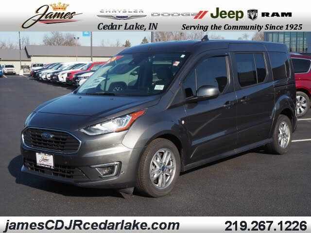 2019 Ford Transit Connect Wagon Titanium LWB FWD with Rear Liftgate