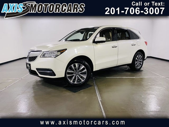 2015 Acura MDX SH-AWD with Technology and Entertainment Package