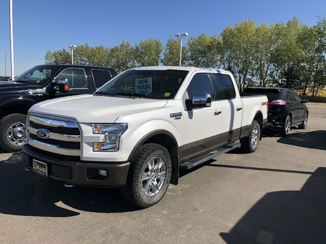 2015 Ford F-150 Lariat SuperCrew LB 4WD