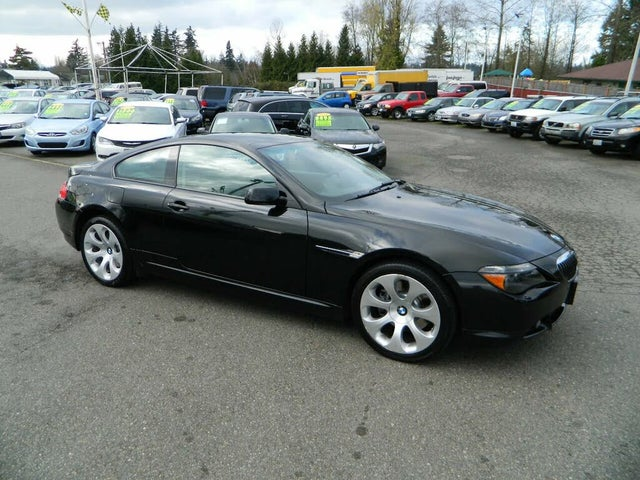 2006 BMW 6 Series 650i Coupe RWD