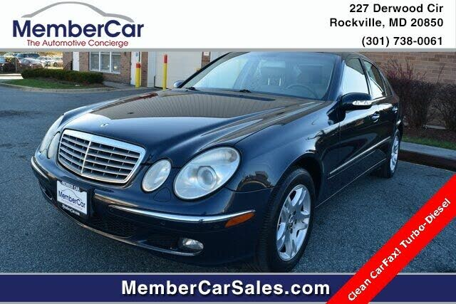 2006 Mercedes-Benz E-Class E 320 CDI Sedan