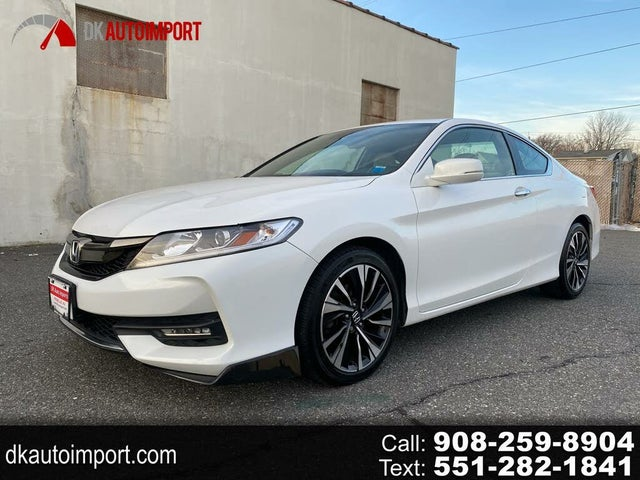 2016 Honda Accord Coupe EX-L V6 with Honda Sensing