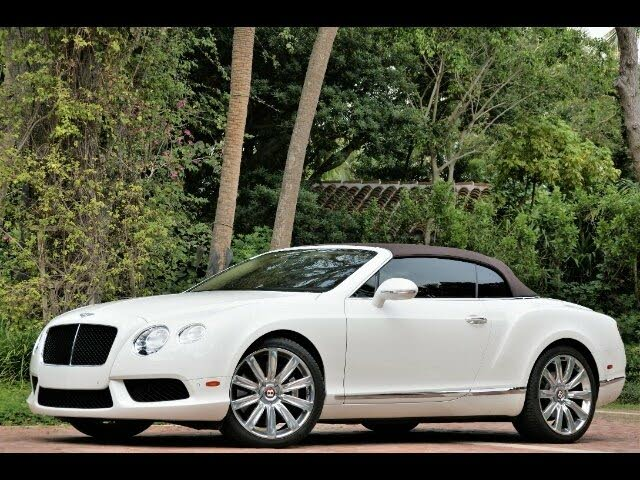 2014 Bentley Continental GTC V8 AWD