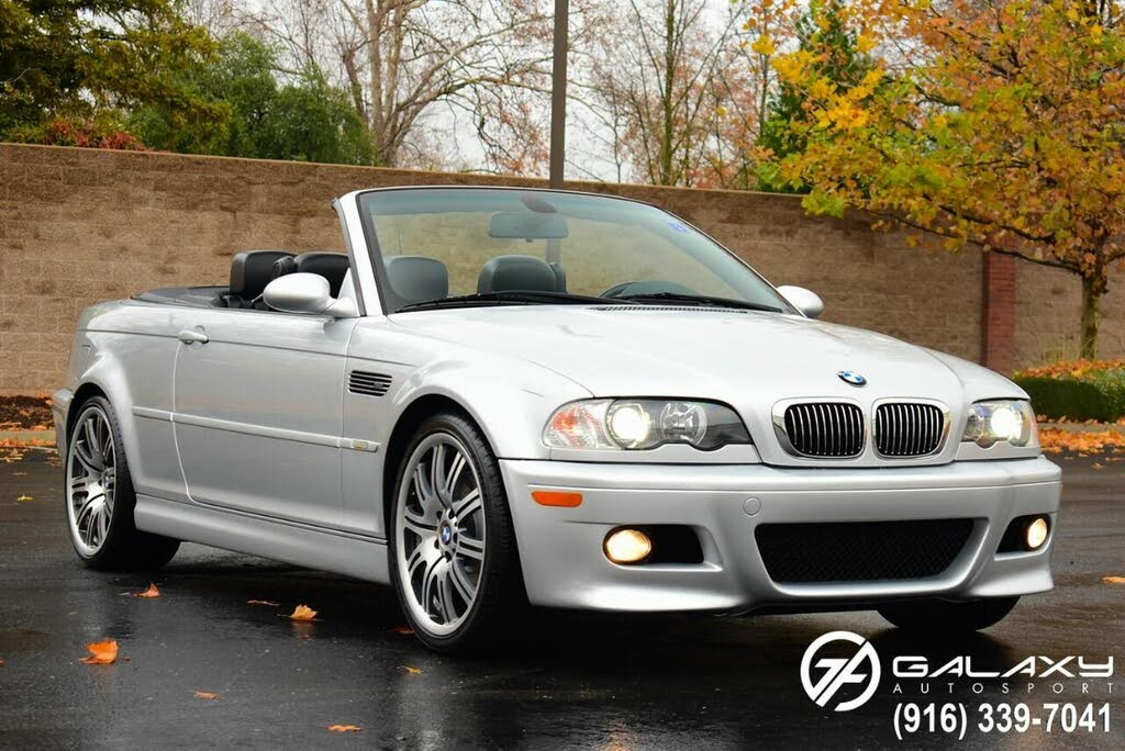 Used 2002 Bmw M3 Convertible Rwd For Sale Right Now Cargurus