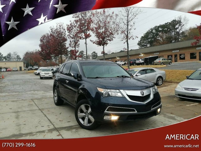 2013 Acura MDX SH-AWD with Technology and Entertainment Package