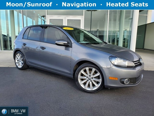 2014 Volkswagen Golf TDI with Sunroof and Navigation