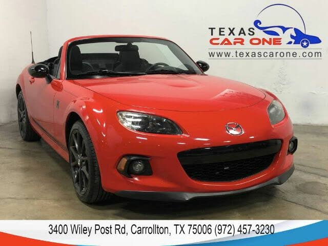 2015 Mazda MX-5 Miata Club Convertible