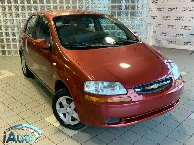 2005 Chevrolet Aveo LS Sedan FWD