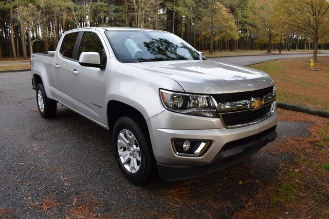 2017 Chevrolet Colorado LT Crew Cab 4WD