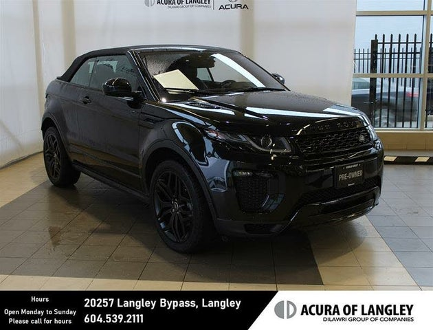 2018 Land Rover Range Rover Evoque HSE Dynamic Convertible AWD