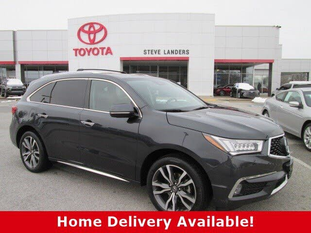 2019 Acura MDX SH-AWD with Advance and Entertainment Package