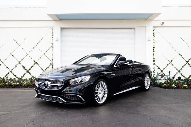2017 Mercedes-Benz S-Class Coupe S 65 AMG Cabriolet