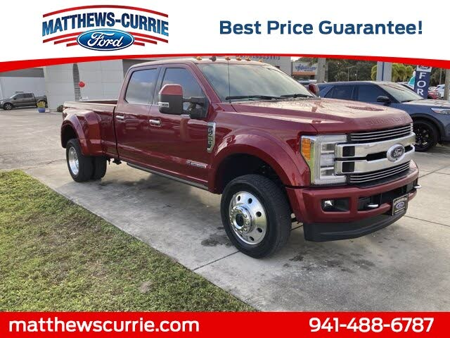 2019 Ford F-450 Super Duty Limited Crew Cab LB DRW 4WD