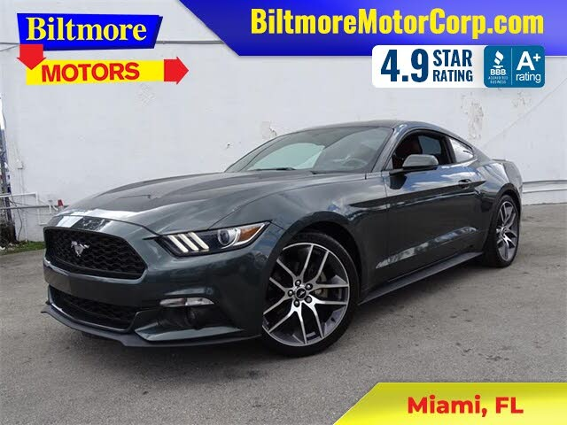 2015 Ford Mustang EcoBoost Premium Coupe RWD