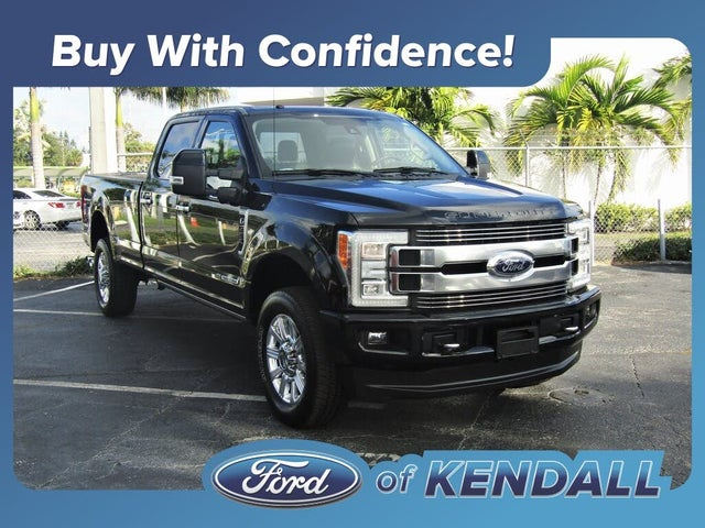2018 Ford F-350 Super Duty Limited Crew Cab LB 4WD