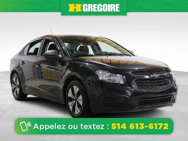 2015 Chevrolet Cruze 2LS Sedan FWD