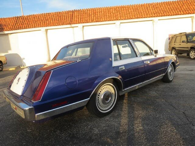 1984 Lincoln Continental Givenchy FWD